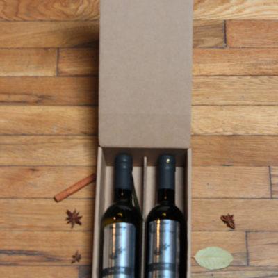 Gift Box IV - Fits 2 375mL Bottles